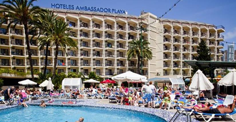 Hotel Ambassador Playa I Benidorm Visit Benidorm Reisen Benidorm