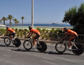 Second stage of Tour of Spain Benidorm-Calpe